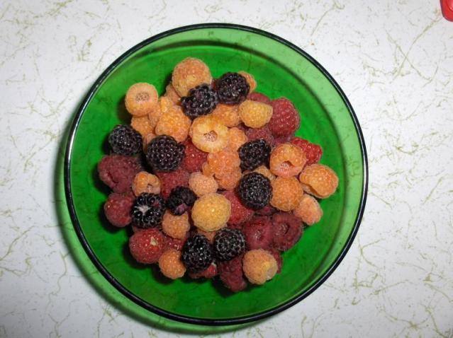 Raspberry Trifecta